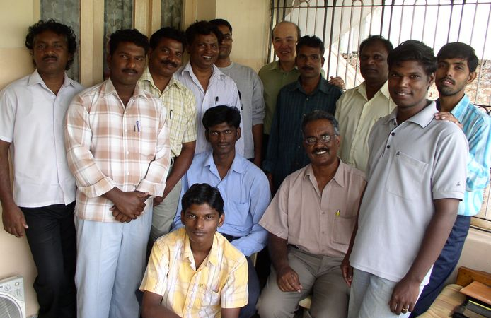 Chennai Church 04 - Church gathering in Madhavaram