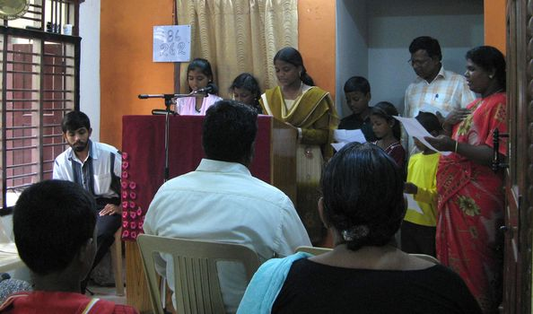 Chennai Church 14 - Sunday School Presentation